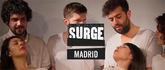 Surge Madrid 2015. Muestra de Creación Escénica