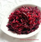 Beetroot ginger stirfry-Beetroot palya