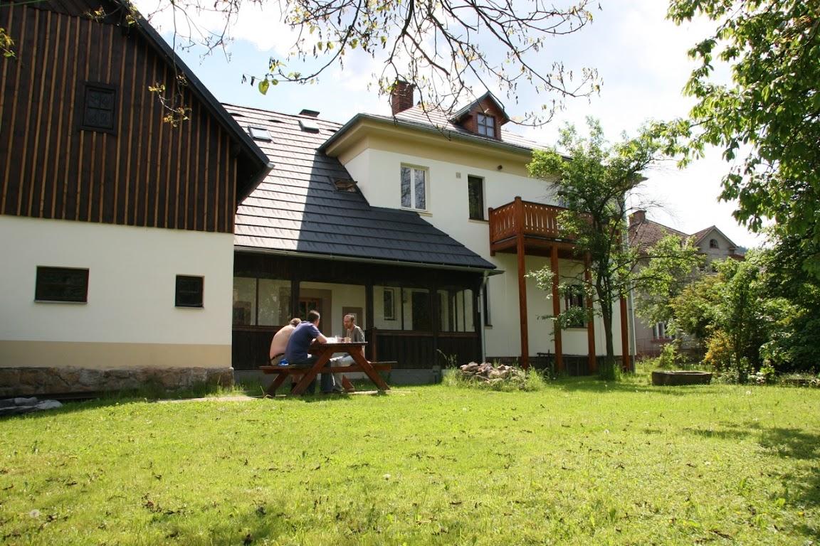 vakantiehuis Mala Skala achteraanzicht