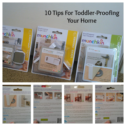 Toddler-Proofing With Munchkin Safety Items