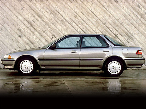 Motor Trend: Japanese car photos 1990 ACURA Integra