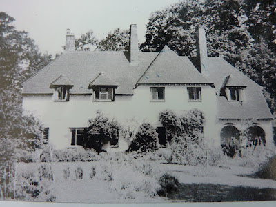 The Old Enclosure where Mr Bagnall lived with his sisters Hilda and May in Newton Road (?), Little Shelford