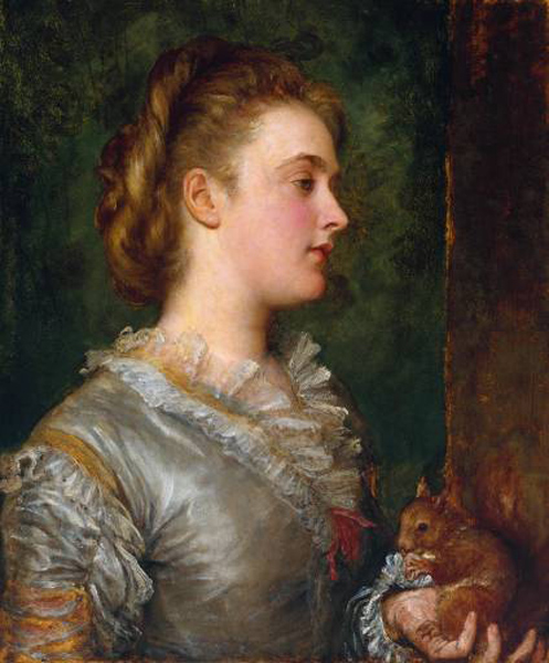 George Frederick Watts - Dorothy Tennant, Later Lady Stanley
