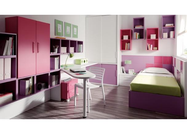 Dormitorios jjp juveniles e infantiles coleccion slang - Habitaciones juveniles ninas ...
