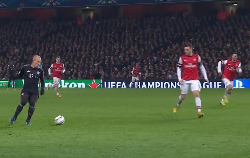 Robben, Arsenal - Bayern Munich
