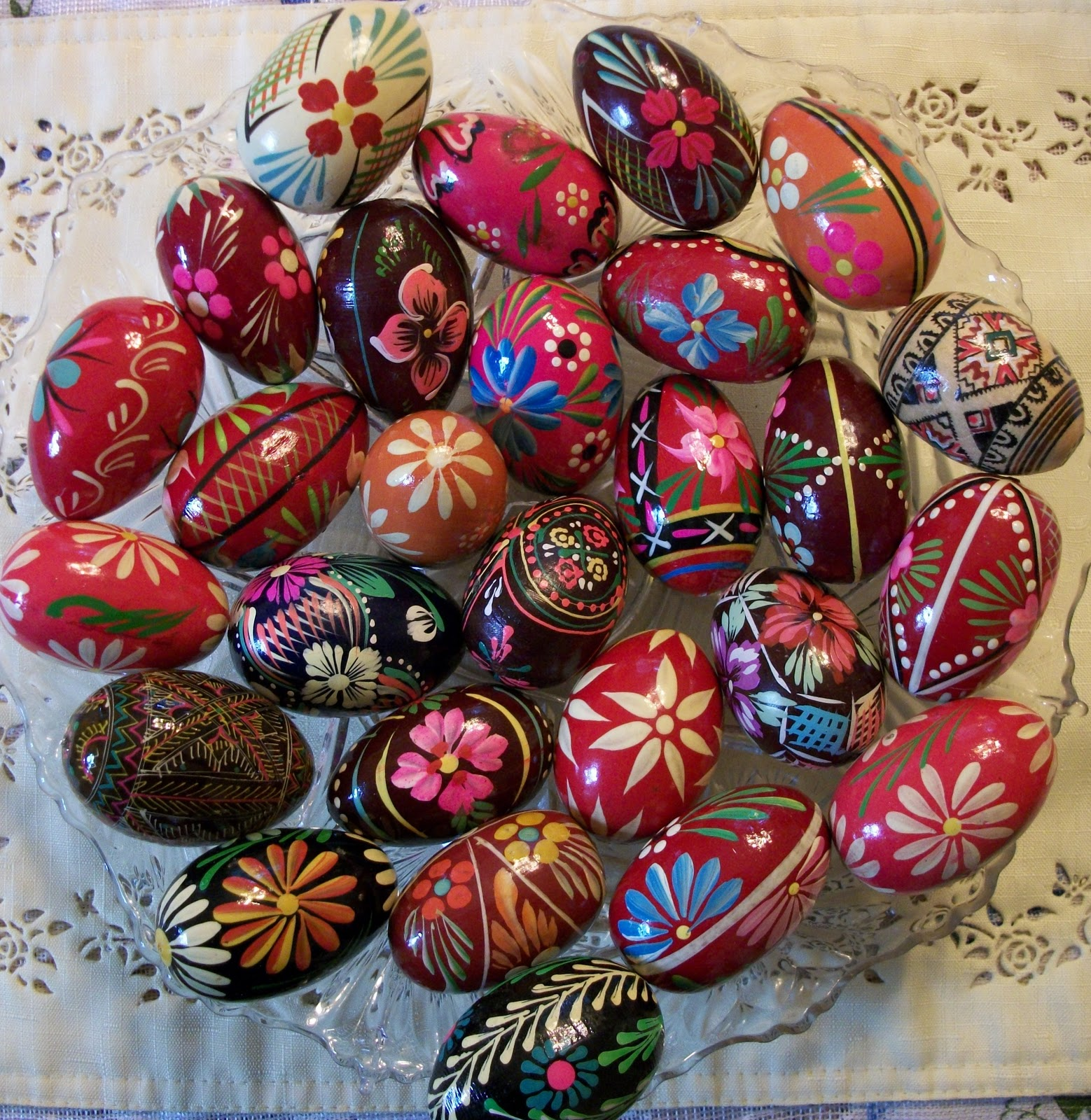 Writing Straight From The Heart: Hand-Painted Easter Eggs
