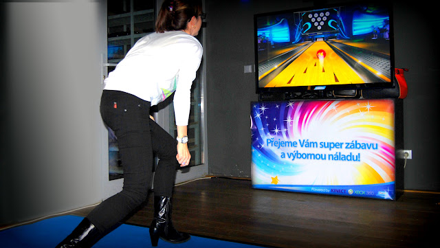 bowling zábava konference bowing simulator, Pronájem Bowling simulátoru, promo zabava bowling