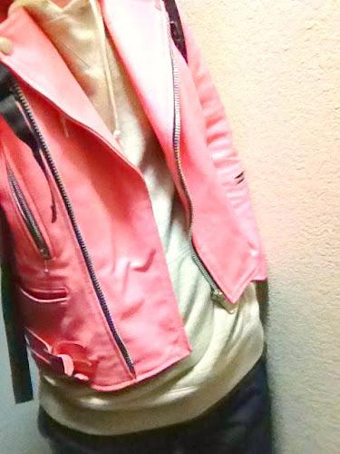 ライダース ピンク