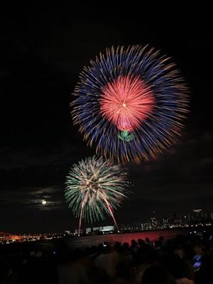 Lễ hội bắn pháo hoa ở Nhật Bản
