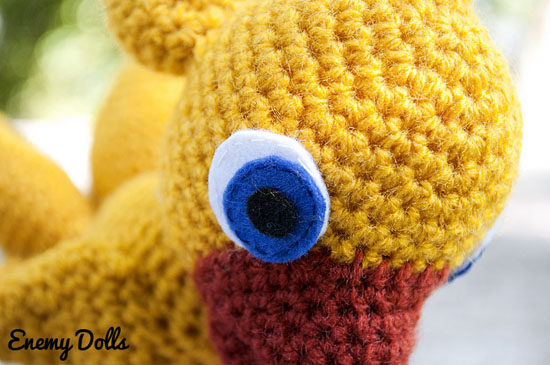 chocobo amigurumi by enemy dolls