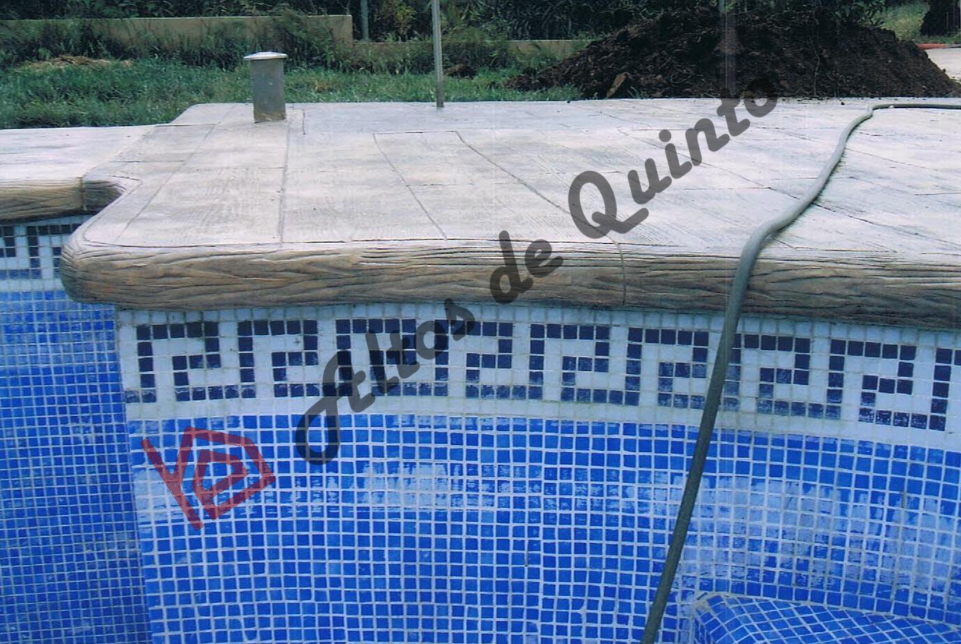 Altos de quinto for Borde piscina hormigon