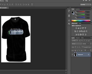 Cara Desain Kaos Dengan Photoshop