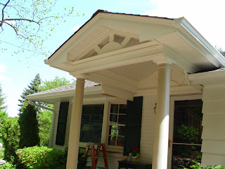 MAINTENANCE FREE AZEK TRIM PORTICO