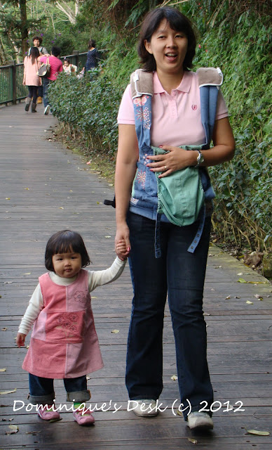 Mummy and Daugther Walking together