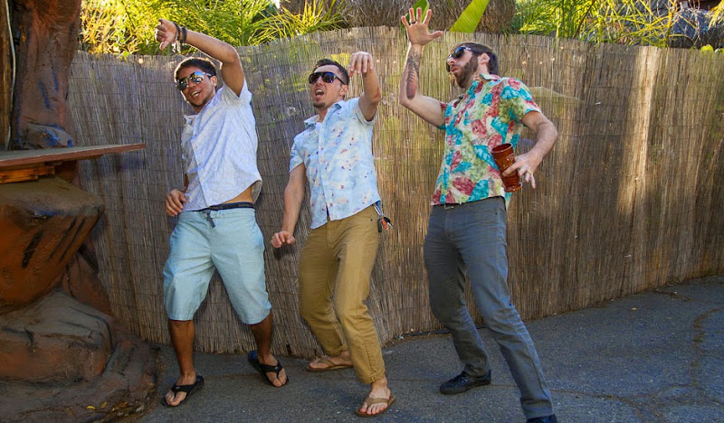 Tidal Wave? In Bawaiian Shirts