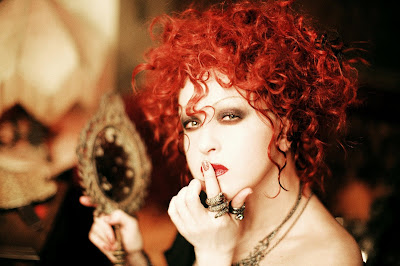 Cyndi Lauper Natural Hair Color