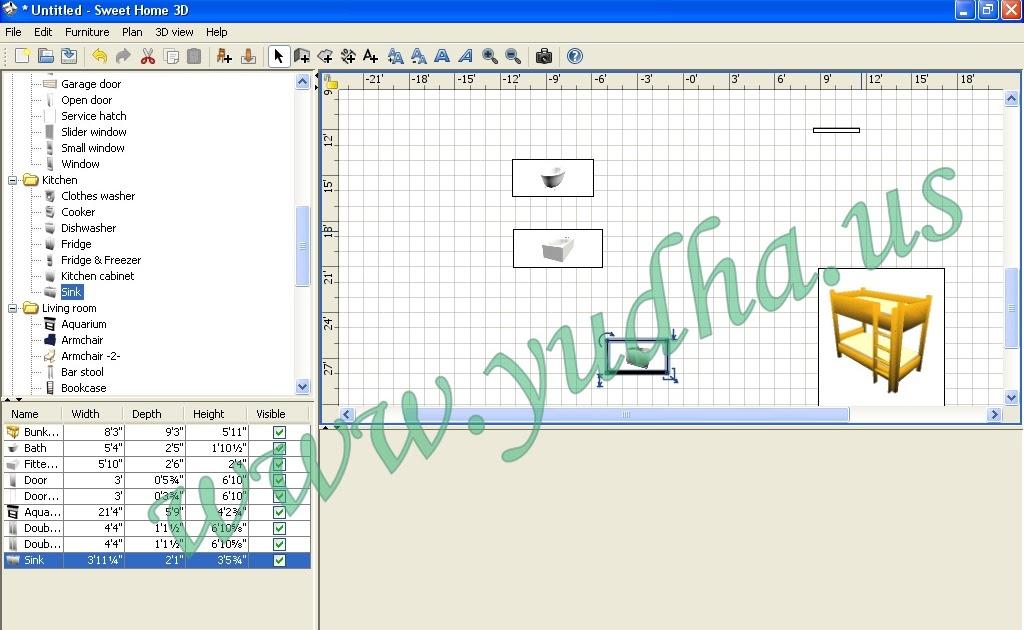Software Sweet Home 3d Free Portable Untuk Mendesain Rumah