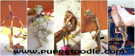 Toe puppetry - Marianne Mettes