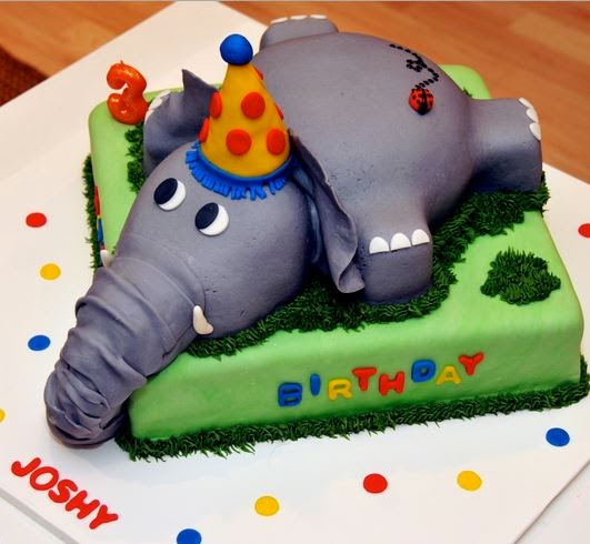 Zoo Birthday Cakes