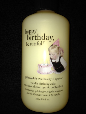 Saiwai Beauty Review Philosophy Happy Birthday Beautiful Shampoo Shower Gel Bubble Bath