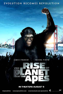 Rise of The Planet of The Apes Official Poster