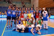 Knack Roeselare wint met 3-0 van Maaseik en heeft het thuisvoordeel in de playoffs volleybal