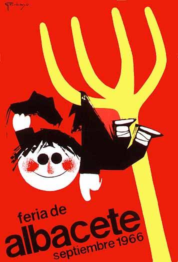 Cartel Feria Albacete 1966