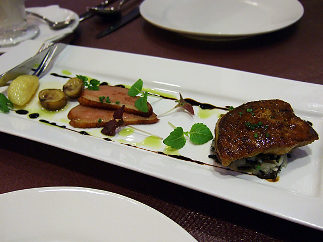 Pan-fried foie gras
