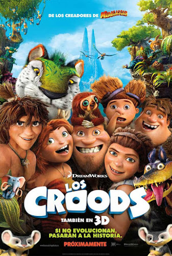 Los Croods, cartel
