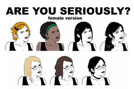 meme female version1 el origen del meme are you seriously? cofre tecnologico
