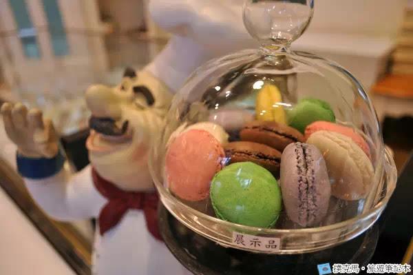 富林園洋菓子馬卡龍展示品