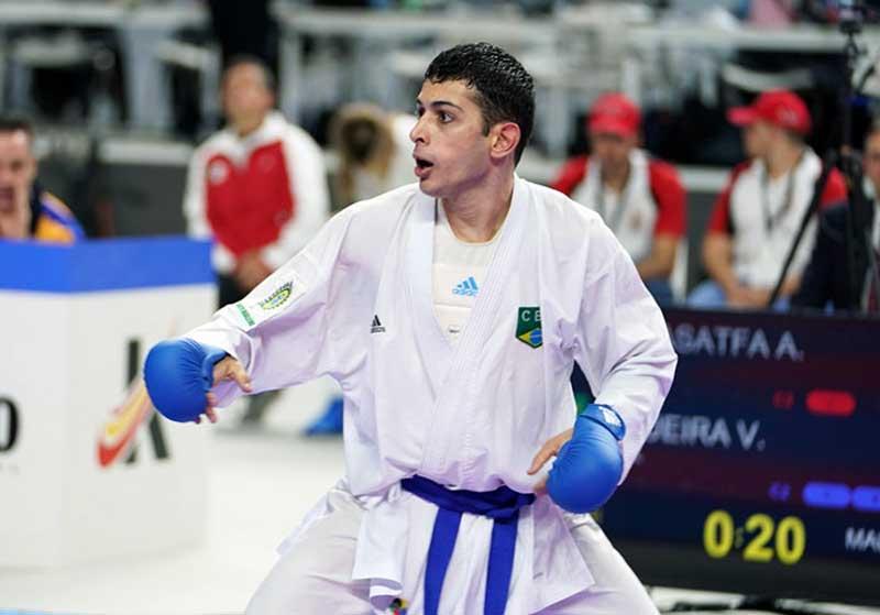 Vinicius Figueira, karateca brasileiro.
