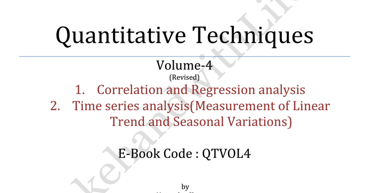 correlation and regression analysis Correlation and linear regression regression is different from correlation because it try to put variables into equation and analysis of variance table.