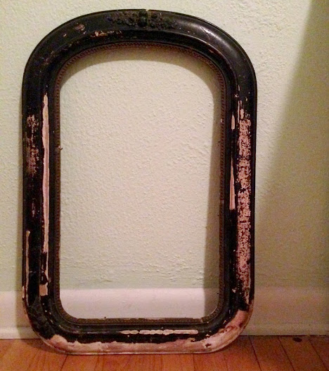 After Procuring My New Mirror Made Circa Sometime In The Late 19th Century I Was On A Mission To Get Cut Size For Frame