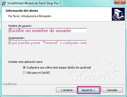 4-Descargar e Instalar Paint Shop Pro 7.04