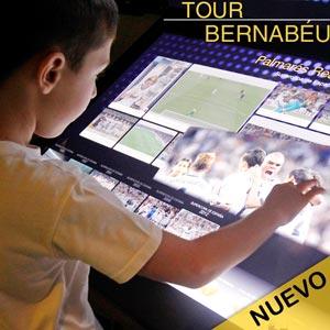 Entradas para el nuevo Tour Bernabéu en el Estadio Santiago Bernabeu