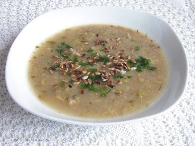 Nina W Kuchni Zupa Z Kapusta Wloska I Kasza Jeczmienna