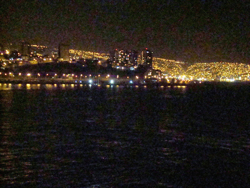 Noche, Valpo, Valparaíso, Viña del Mar, Chile, Elisa N, Blog de Viajes, Lifestyle, Travel