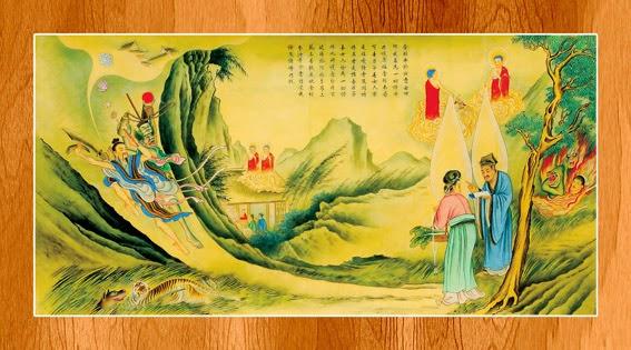 Bộ ảnh đẹp minh họa bản Kinh A Di Đà 15