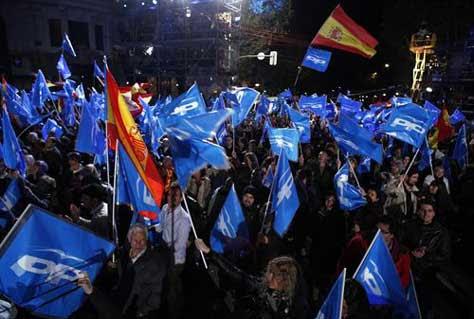 Partido Popular elecciones en España