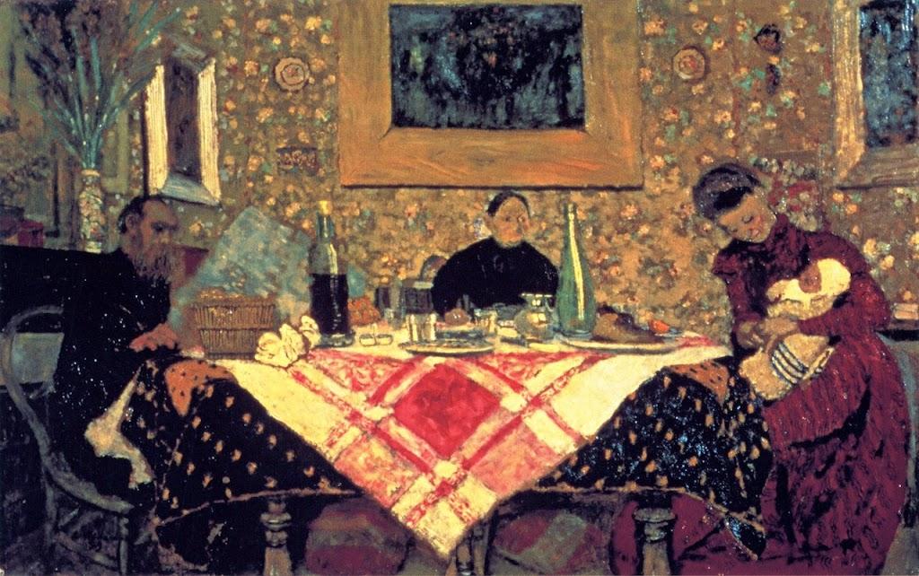 Édouard Vuillard - Family Lunch.