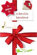 bavoir bandana funky giraffe Noël concours a gagner