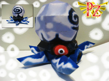 Cyclok Papercraft