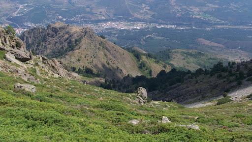 Descente du vallon de Castiglione