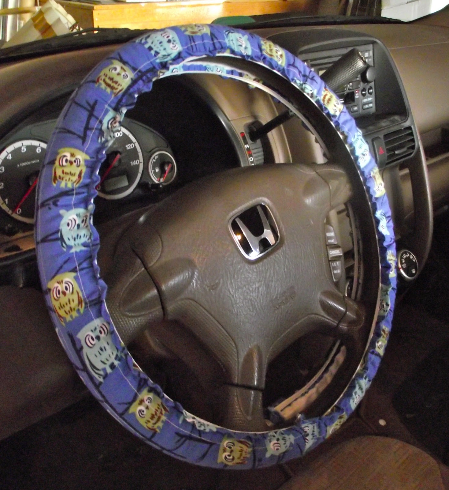 Sbuster No 17 Challenge Steering Wheel Cover With Tutorial