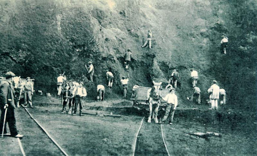 La minería en Castro Urdiales (1900)