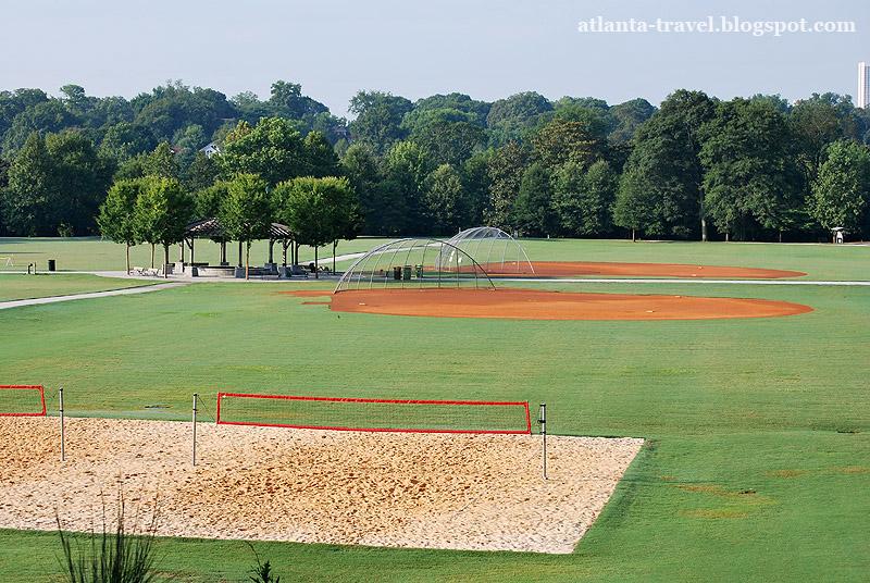 Пидмонт парк в Атланте