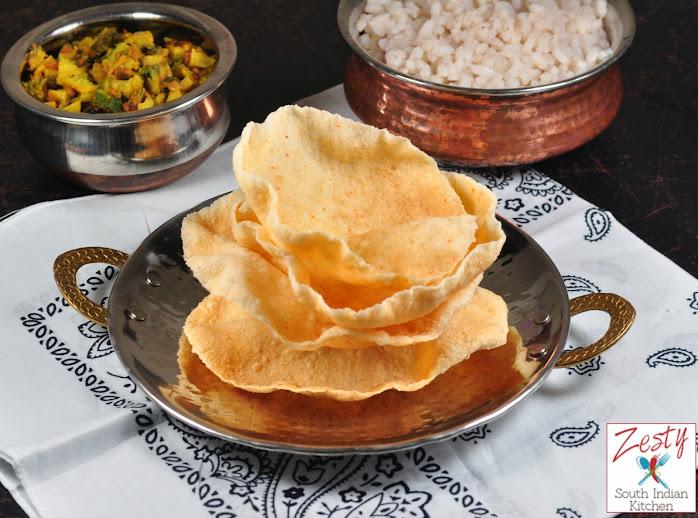 Maracheeni Pappadam/ Appalam/Cassava/Yucca Pappad