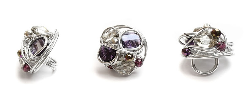 Purple Sparkle Ring Project