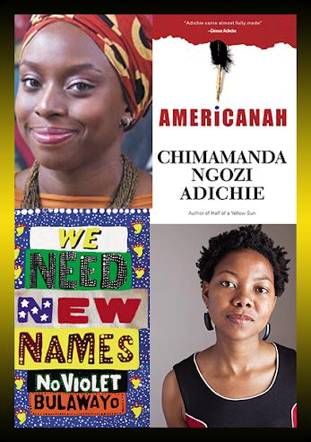 Chimamanda Ngozi Adichie Igbo Nigeria Americanah NoViolet Bulawayo We Need New Names Zimbabwe Africa Escritora
